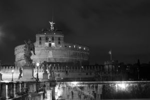 castel s. angelo by nonsodove