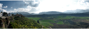 A View From Ronda by Moggen2