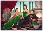 Novita Tanjaya and Her Family by JonathanChanutomo