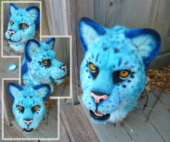 Blue Leopon closeup by LilleahWest