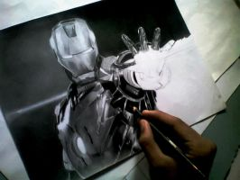 iron man wip by algonzaga123