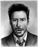 Robert Downey Jr by Tchelebi