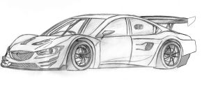 Mazda6 GT300 by Ditto-kun