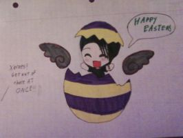 Happy Easter from Xerxes by DeadloveCalling