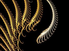feathers of gold by Love-Loyalty-Friends