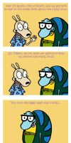 H1N1 + Rocko's Modern Life by guardian-of-moon