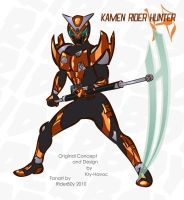 Kamen Rider Hunter by RiderB0y