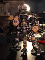 Imperial Knight Warden from House Cadmus by TheDwellerfrom99