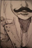 Mustachio by EKCArt