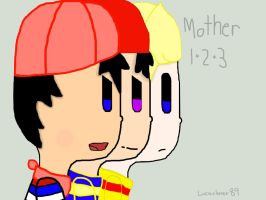 Mother 1 2 3 by Lucaslover89