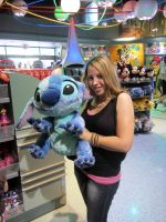Hangin With Stitch by GarnetTribal0