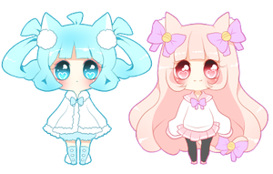 Kitty And Pipo Mini Cheeb 2 by PuffyPrincess