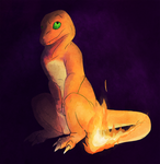 Pokemarathon - 004 Charmander by MoonlostArts