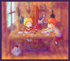 Mother 3 - Ketchup please by Hyura