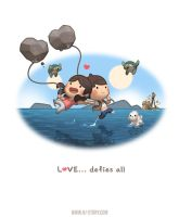 Love... defies all! by hjstory