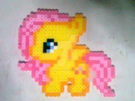 Fluttershy Beads by AliceBlack19