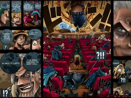 SPOIL - colo of One piece 4 by Gandaresh