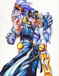 Jotaro and Star Platinum by MagicKitsune
