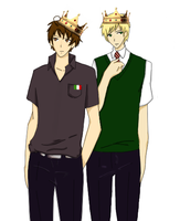 (APH) Kings of Tsundere by xTheAwesomePrussiax