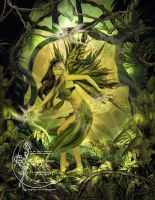 The Green Fairy by Gina-Marie
