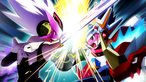 bly vs tribeking psp wallpaper by 7chopsticks7
