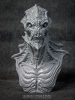 Gillman 1:3 Scale Bust by DominicQwek