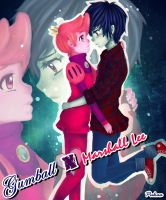 Marshall Lee X Prince Gumball by PukaaParanoid