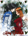 The Holly Maiden and the Northern Wind - Close-up by ElyonBlackStar