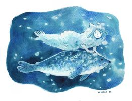 The Selkie by heikala