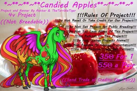 *~**~**~**Candied Apples*~**~**~* by Yuseabell