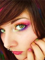 rainbow brite by itashleys-makeup