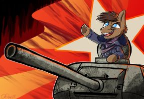 Victory for Mother Russia - commish by Graystripe64