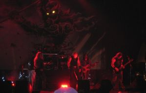 Iced Earth in the Red Light by WingDiamond