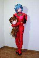 Rei play the Asuka cosplay. by doller98-TAKA