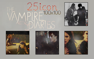 Vampire Diaries icon pack by avadaxkedavra