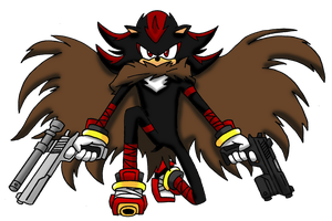 Shadow The Mercenary Sonic Boom by Retzan