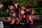 The Last of Us (Wolf form) by giinga