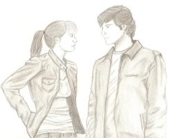 staring contest by Erica-Danes