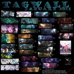 Tagwall Enero 2011 by Spawn-Designs