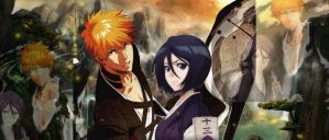 ichiruki calendar 2012 2013 by Bleach-Fairy