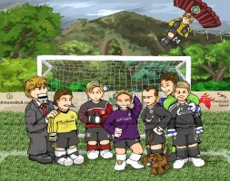 German soccer keeper situation by barananduen