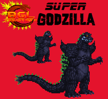 Super Godzilla Custom by Burninggodzillalord