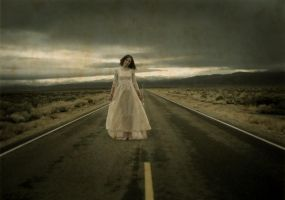 She haunts the roads... by WormBaby99