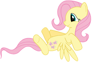 Fluttershy is waiting for hugs by transparentpony