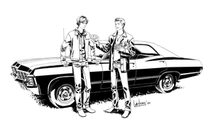 SPN big bro cares about you by viCtORy-SaN