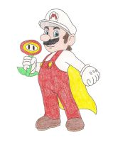Fire Mario by DoctorEvil06