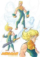 Aquaman Redesign sketches by kross29