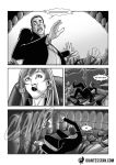Chewing Out The Boss by giantess-fan-comics