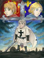 Third Crusade Watercolor ver. by McMitters