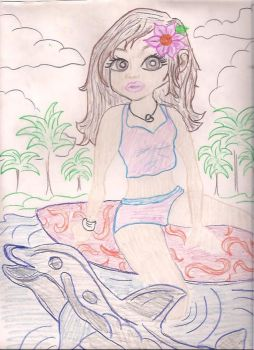 Deviant 017lisa Frank In Colored Pencils Fan Art by itchyfoot420